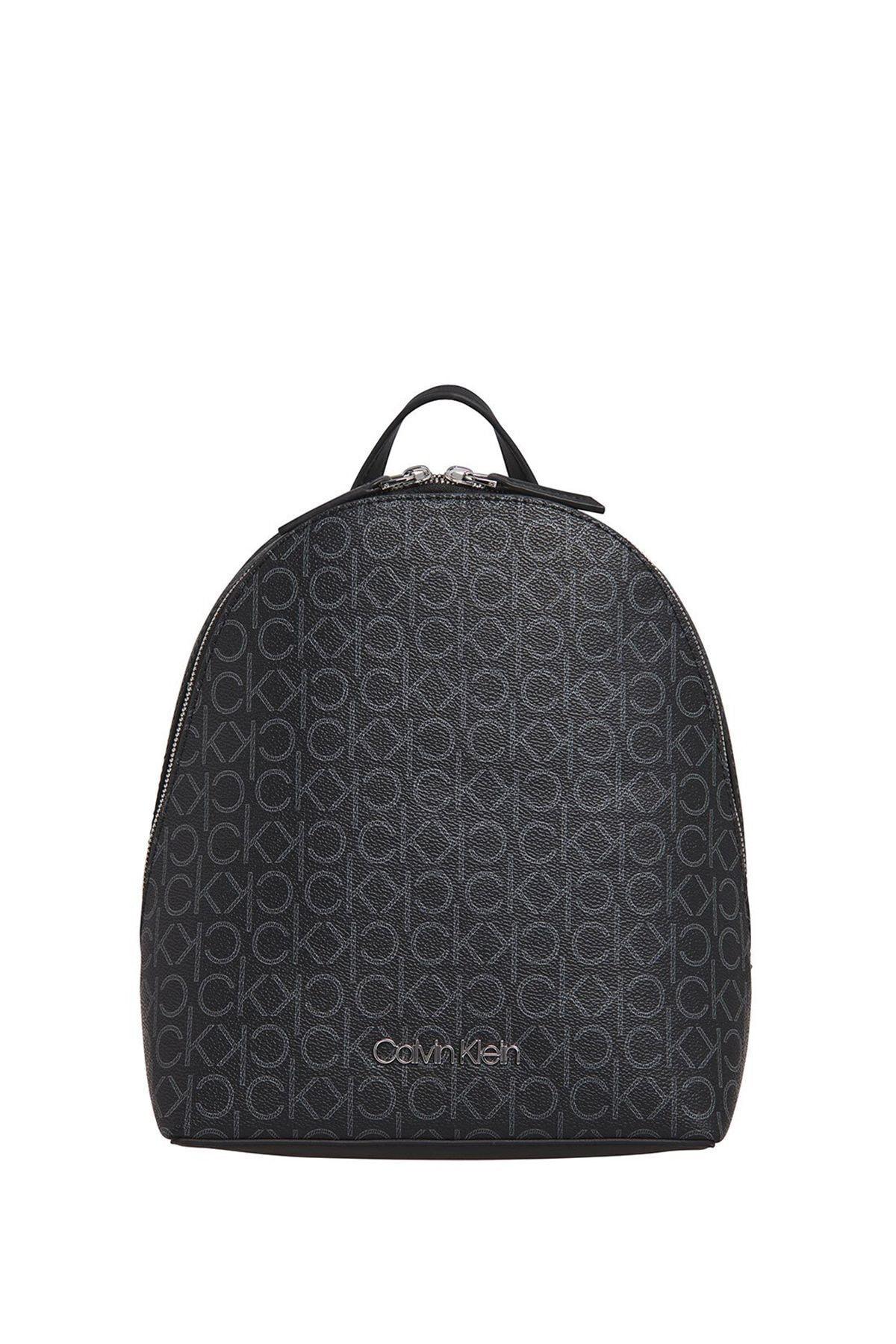Calvin Klein Kadın Siyah Mono Sm Sırt Çantası K60k606476 1