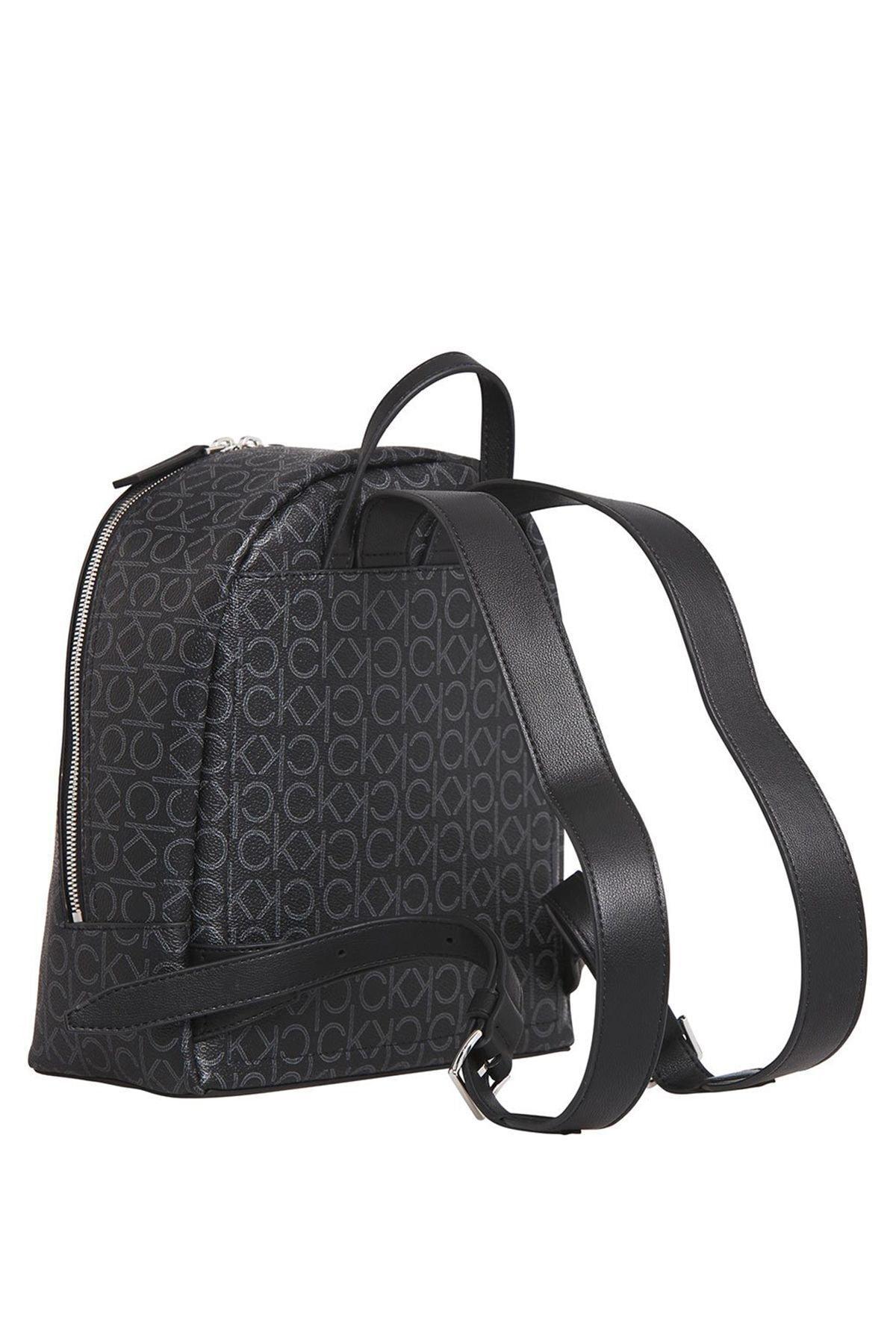 Calvin Klein Kadın Siyah Mono Sm Sırt Çantası K60k606476 2