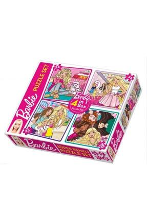 DIY Toys Barbie Puzzle 4in1
