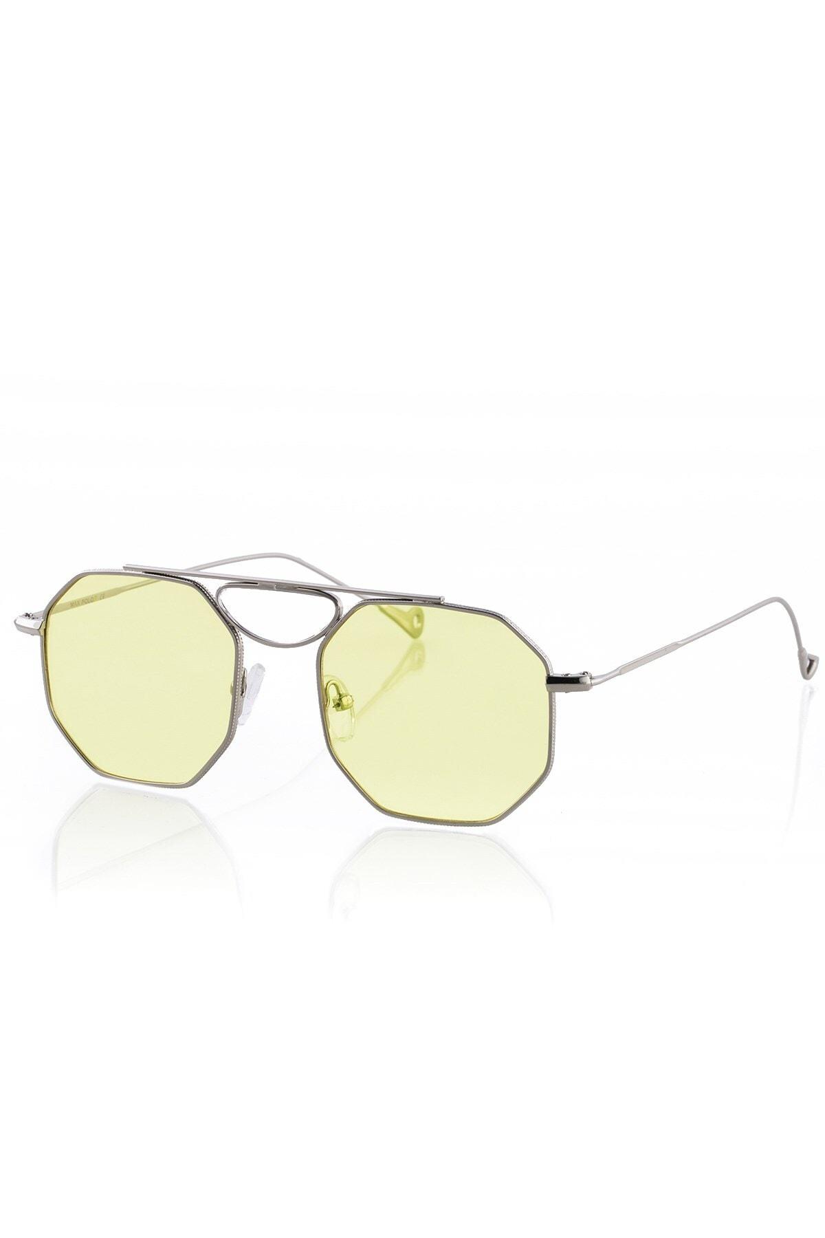 Max Polo Mp20mp3007xr004 Sarı Uv 400 Kadın Güneş Gözlüğü 1