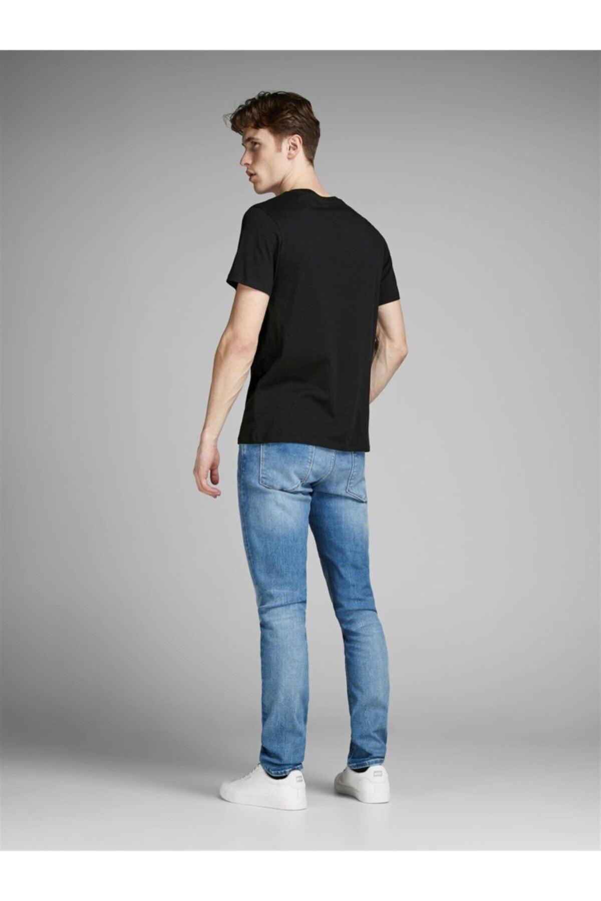 Jack & Jones Erkek Siyah T-shirt 2