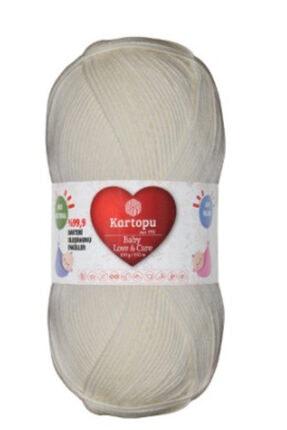 Kartopu Love & Care Antibakteriyel Renk No -019- Ekru