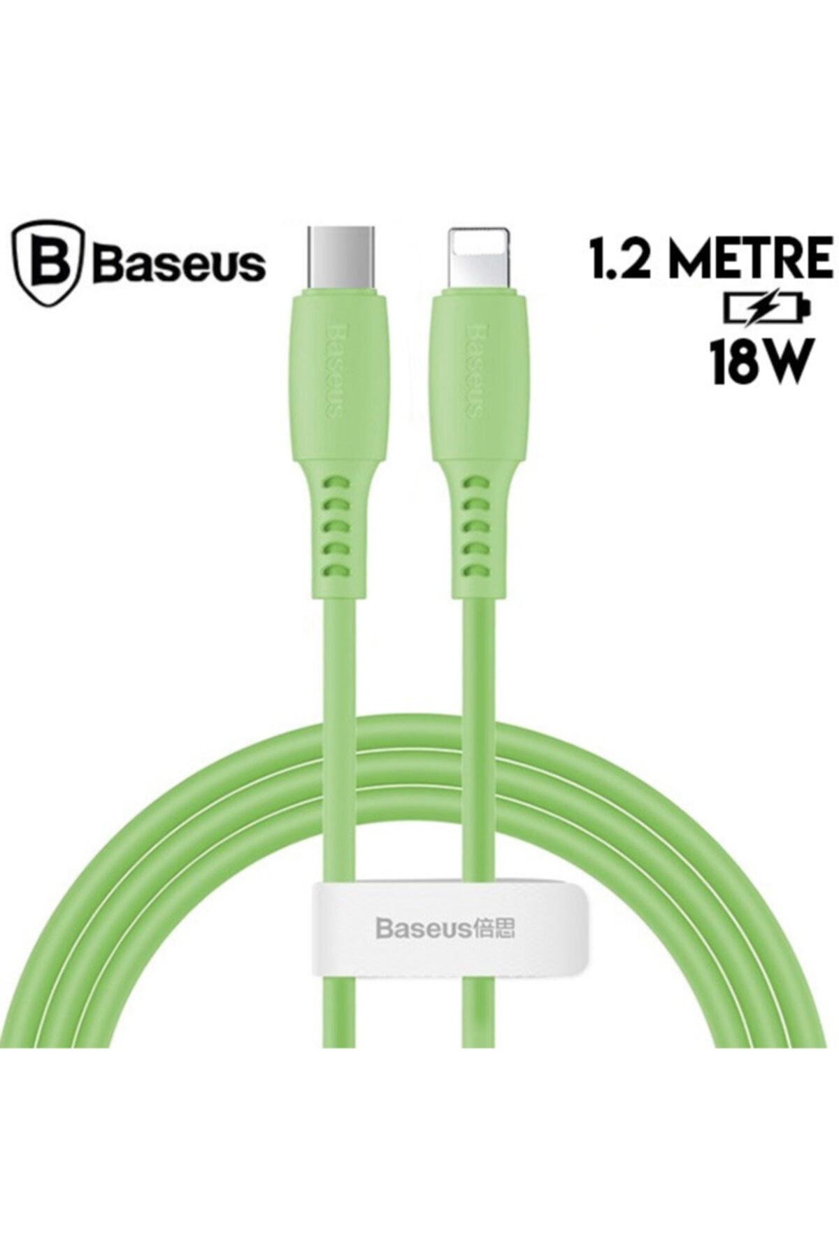 Baseus Colourful Cable Usb Type-c- Iphone 11-pro18w Hızlı Usb Şarj Kablosu 2