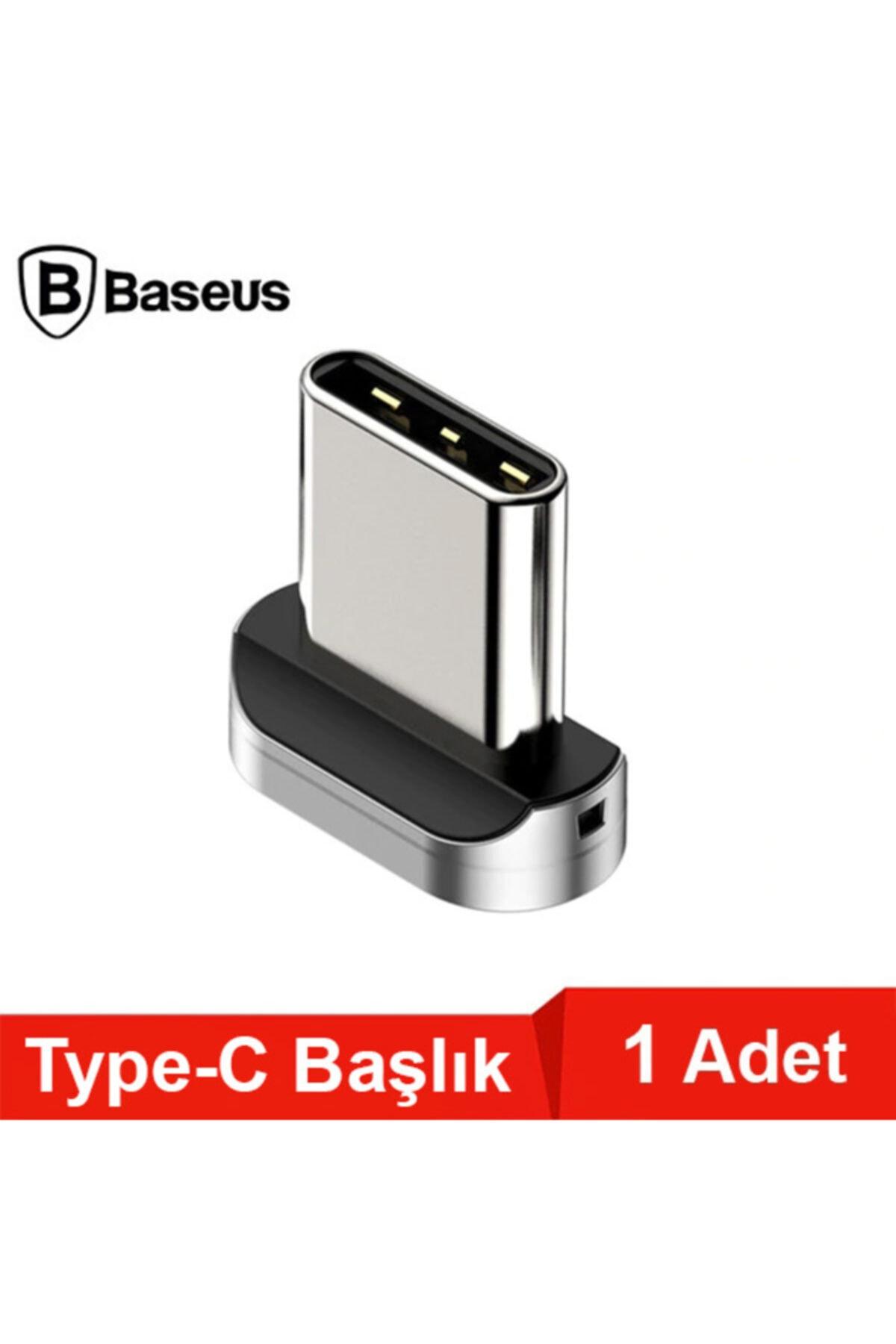 Baseus Zinc Magnetic Manyetik Usb Type C Başlık 2