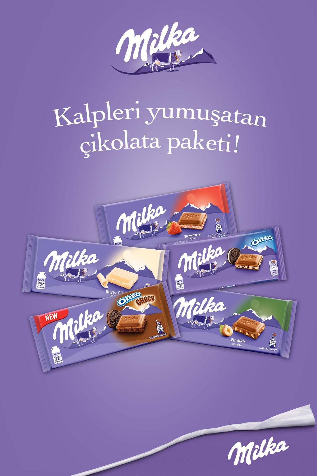 Milka Mılka Lezzet Paketi (5 Adet Tablet Çikolata) 1