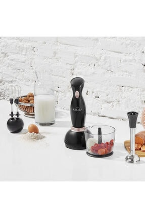 Karaca Pro-midi 3lü Blender Set Black Rose