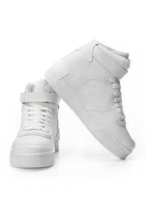 LETOON Mrk21 Kadın Beyaz Günlük Ayakkabı