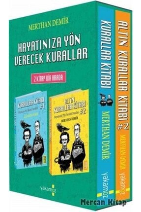 Yakamoz Yayınları Kurallar Kitabı (2 Kitap)