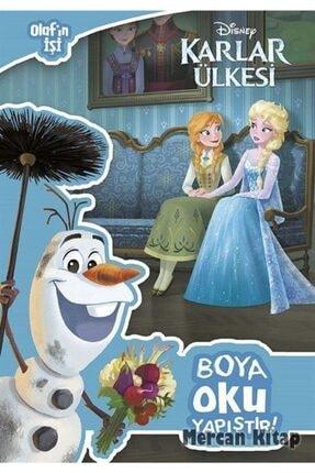 Doğan Egmont Disney Karlar Ülkesi Olaf'ın Işi Boya Oku Yapıştır