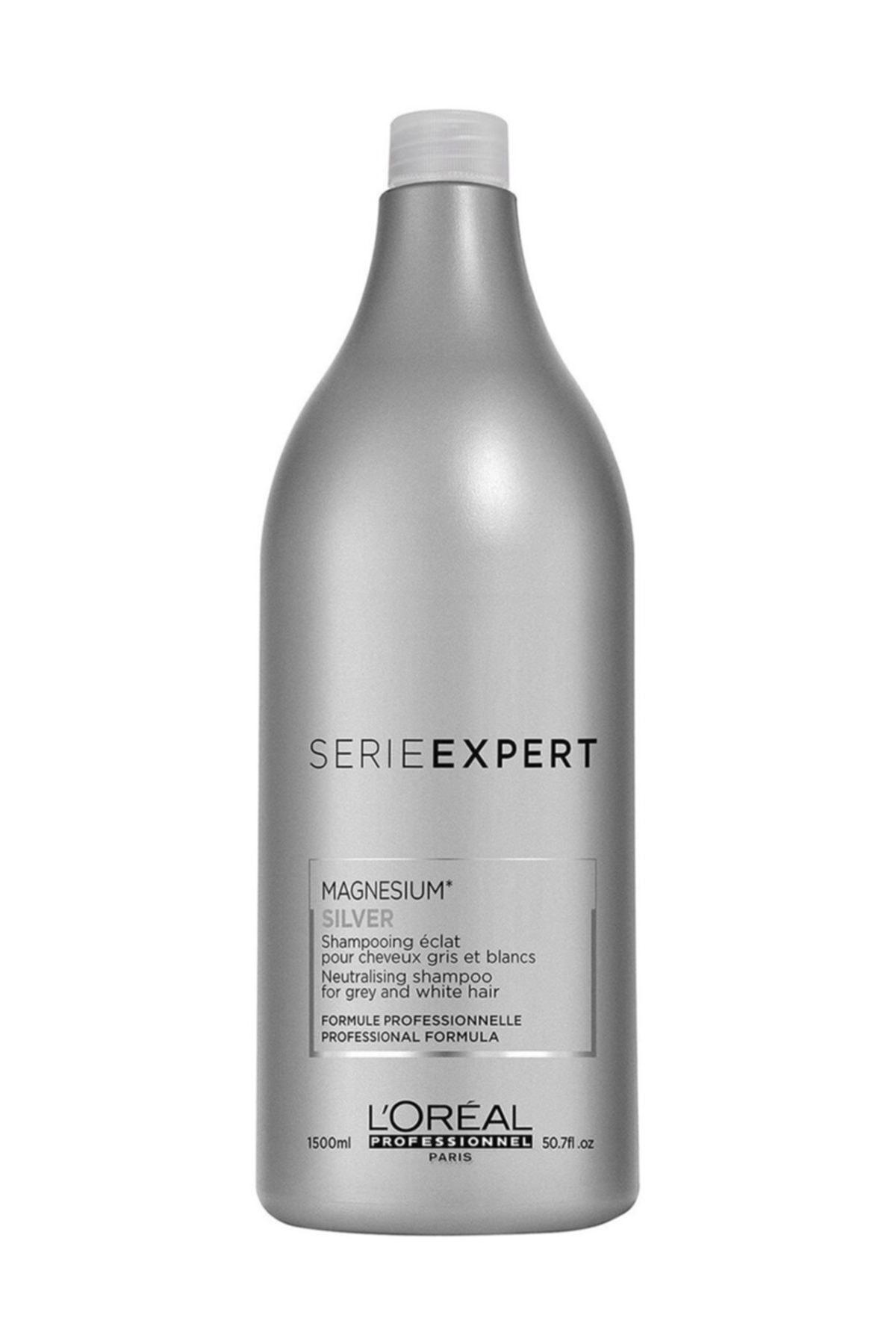 L'oreal Professionnel Serie Expert Magnesium Silver Mor Şampuan 1500 Ml 1