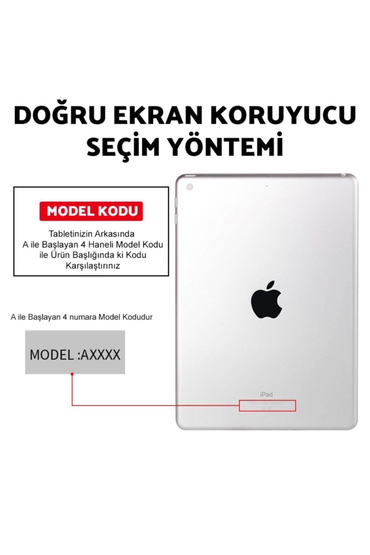 "Sunix Apple Ipad 8. Nesil (2020) 10.2"" (a2270,a2428,a2429,a2430) Temperli Kırılmaz Cam Ekran Koruyucu 2"