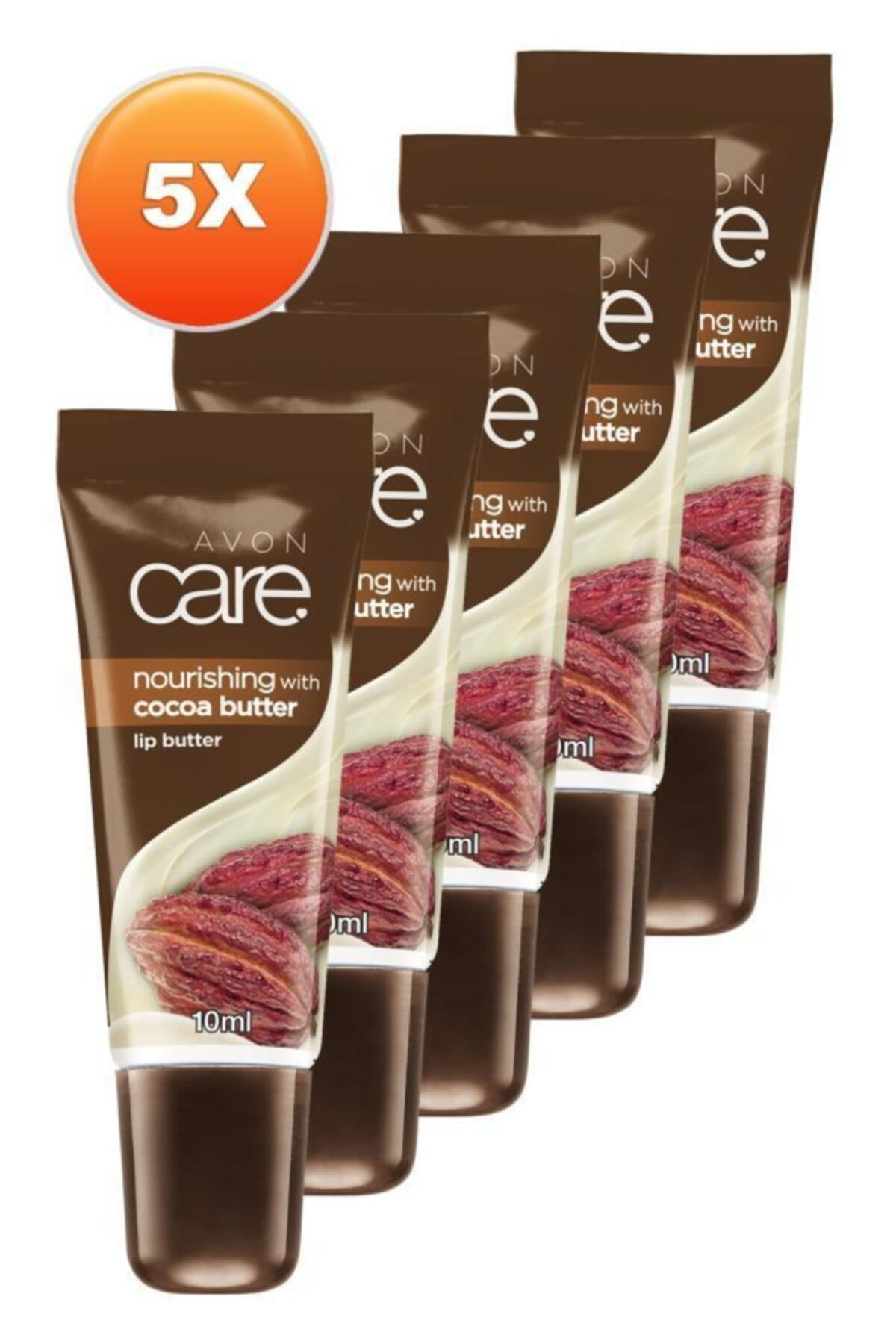 AVON Kakao Yağı Ve E Vitamini Içeren Dudak Balmı 10 Ml. Beşli Set 2