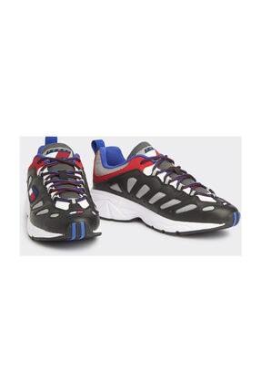 Tommy Hilfiger Erkek Siyah Sneaker Herıtage Retro Sneaker EM0EM00335
