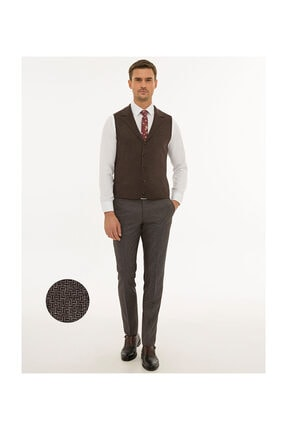 Pierre Cardin Erkek Bordo Ekstra Slim Fit Pantolon G021GL003.000.1153885