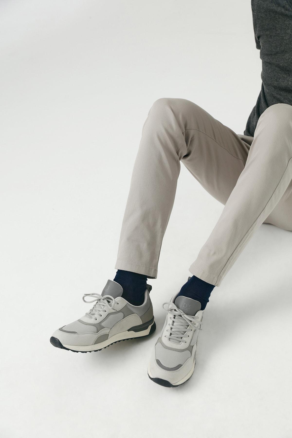 Twn Erkek Ayakkabı Gri Renk 2