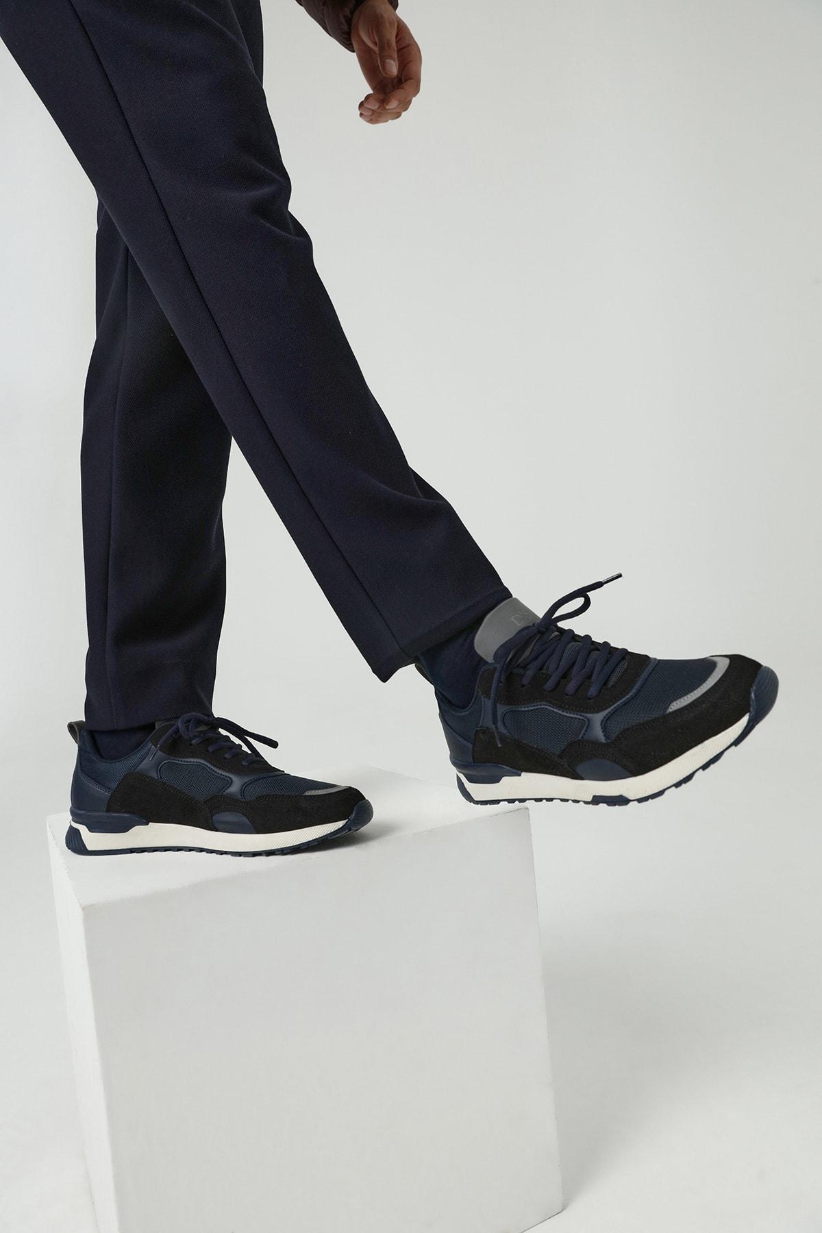 Twn Erkek Ayakkabı Lacivert Renk 1
