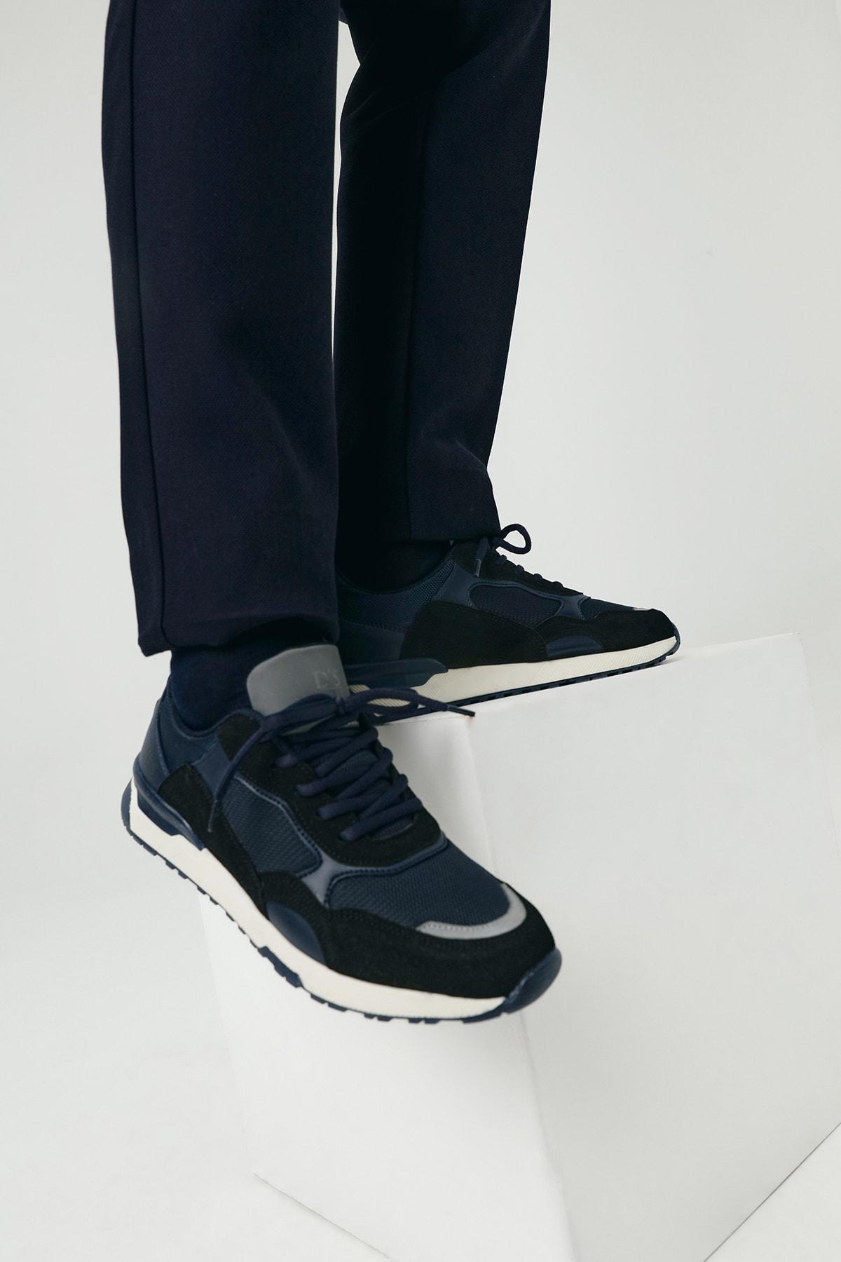 Twn Erkek Ayakkabı Lacivert Renk 2