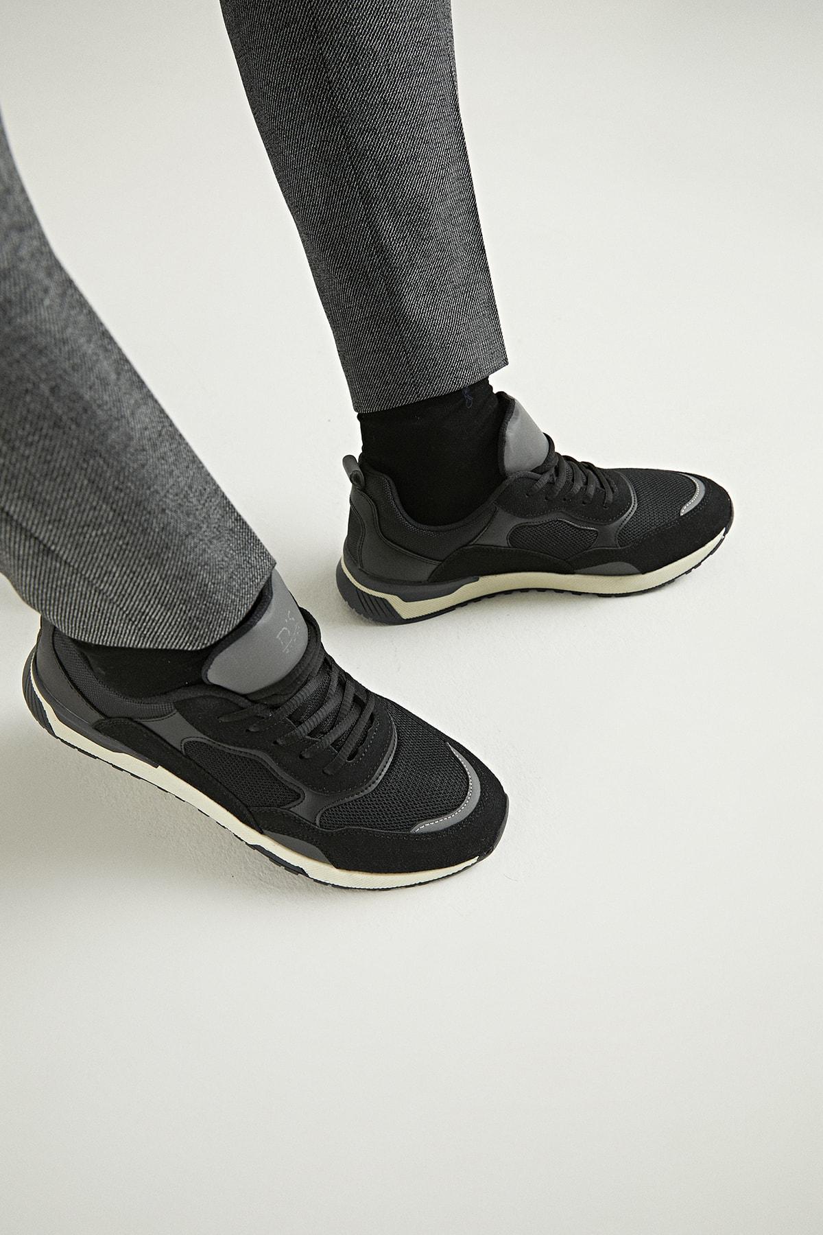 Twn Erkek Ayakkabı Siyah Renk 1