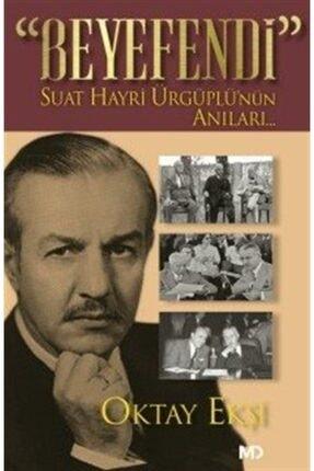 Md Yayınları Beyefendi & Suat Hayri Ürgüplü'nün Anıları