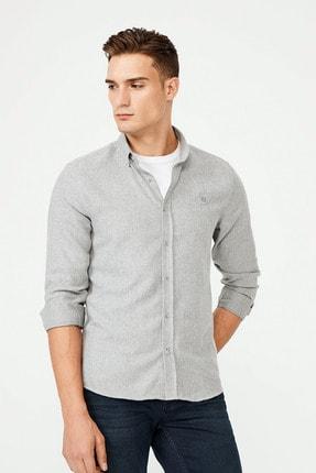 Avva Flanel Düğmeli Yaka Slim Fit Gömlek