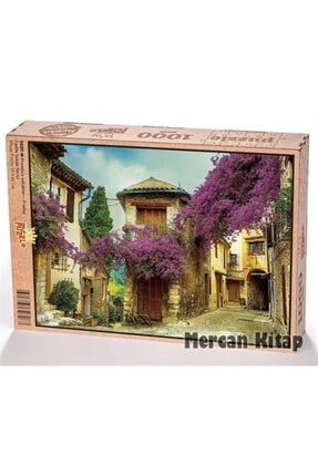King Of Puzzle Provence Sokakları - Fransa Ahşap Puzzle 1000 Parça (sk07-m)
