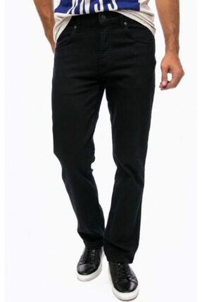 WRANGLER Erkek Siyah Texas Kot Pantolon W121dj004