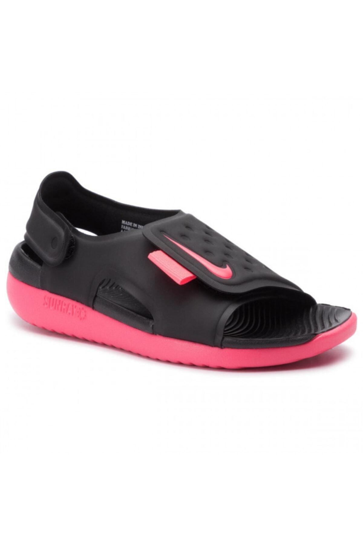Nike Kız Çocuk Siyah Sunray Adjust 5 Sandalet Aj9076 002 1