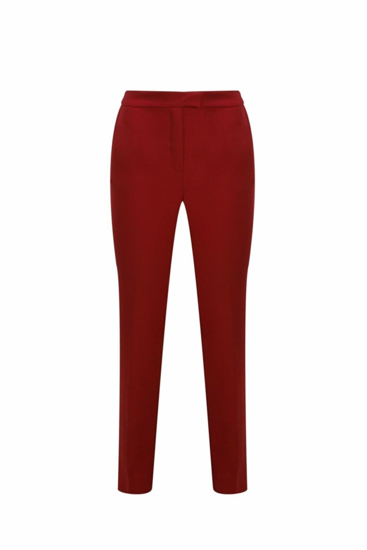 adL Kadın Kırmızı Kalem Pantolon 153C1538000006 1
