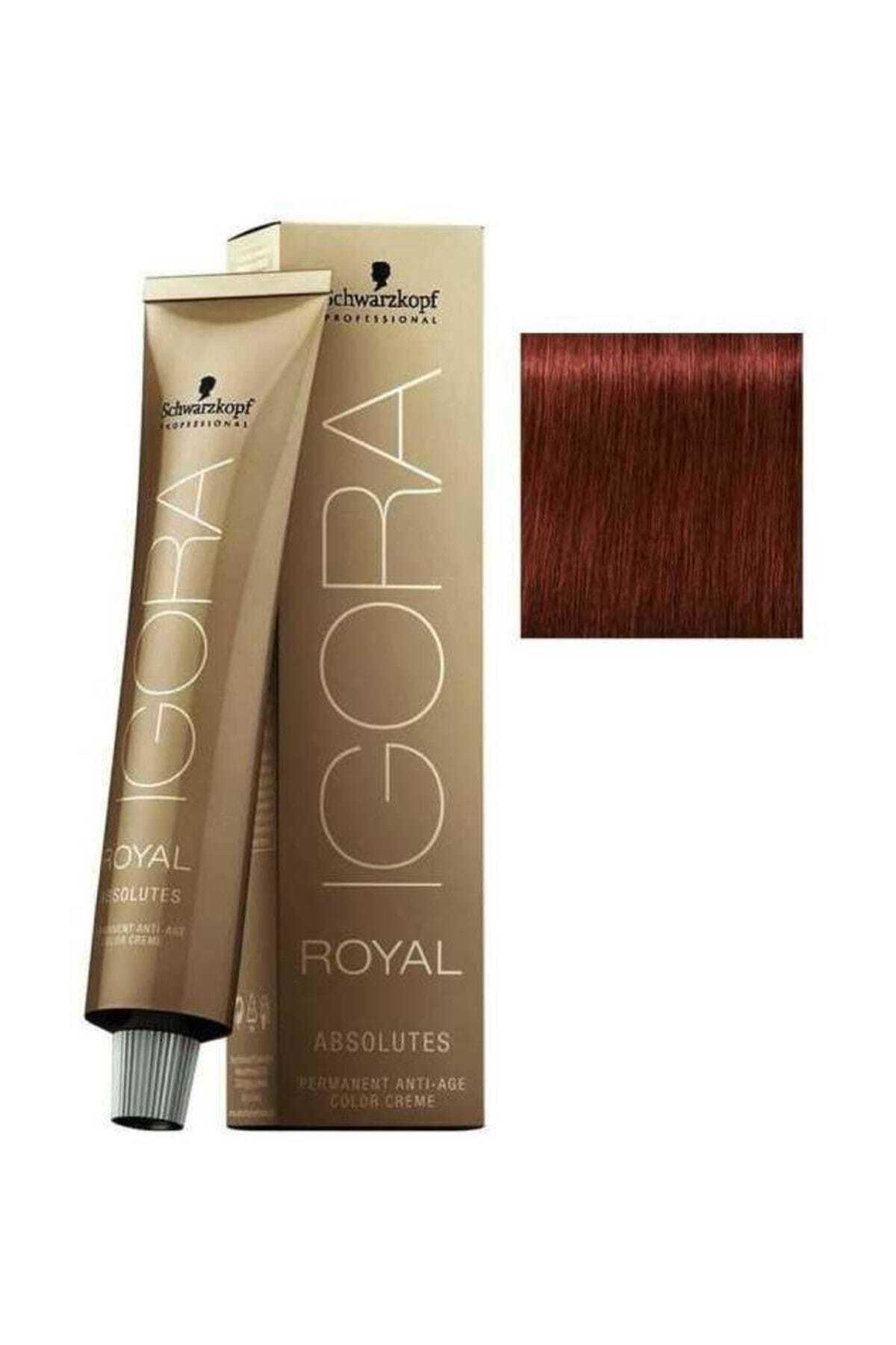 Igora Koyu Kumral Doğal Kızıl Igora Royal Absolutes Saç Boyası 6-80 60 ml 4045787282474 1