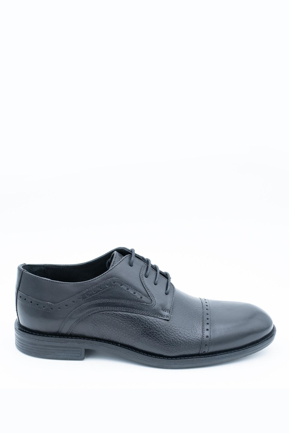 İgs Erkek Siyah Klasik Ayakkabı 197057-2 1