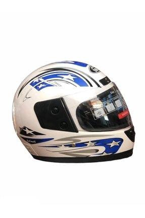 SWAG Swan Motosiklet Kask Kapalı Full Face Boyunluklu