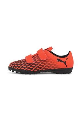 Puma Çocuk Siyah Halı Saha Ayakkabısı