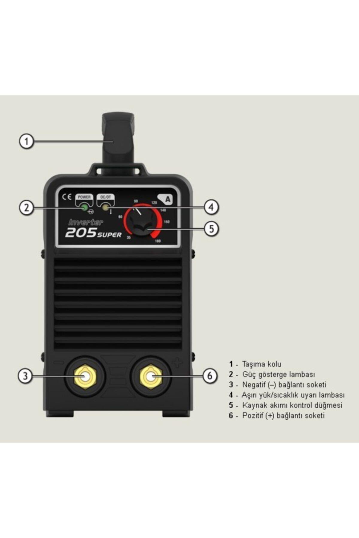 Askaynak Inverter 205 Süper Kaynak Makinası 2
