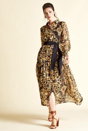 SERPİL Kadın Desenli Elbise