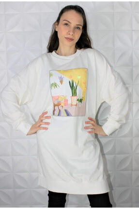 Loreen Baskılı Kadın Sweatshirt