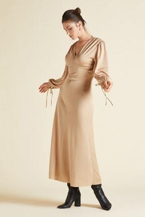 SERPİL Kadın V Yaka Elbise
