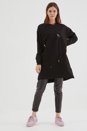 Loreen Kadın Siyah Tunik 30531-01
