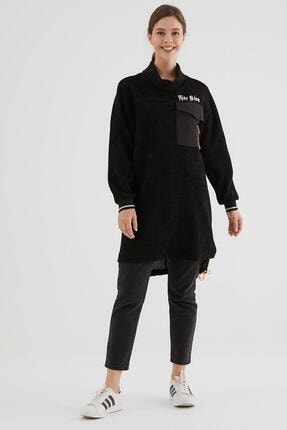 Loreen Kadın Siyah Tunik 20317-01