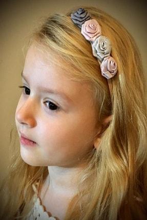 BUKALEMUN COMPANY 4 Renkli Gül Figürlü Çocuk Saç Bandı