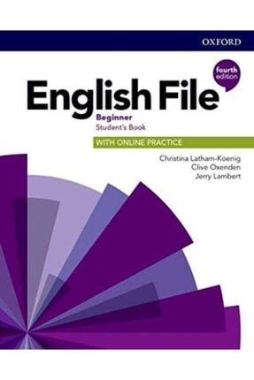 Oxford English File Beginner Students Book