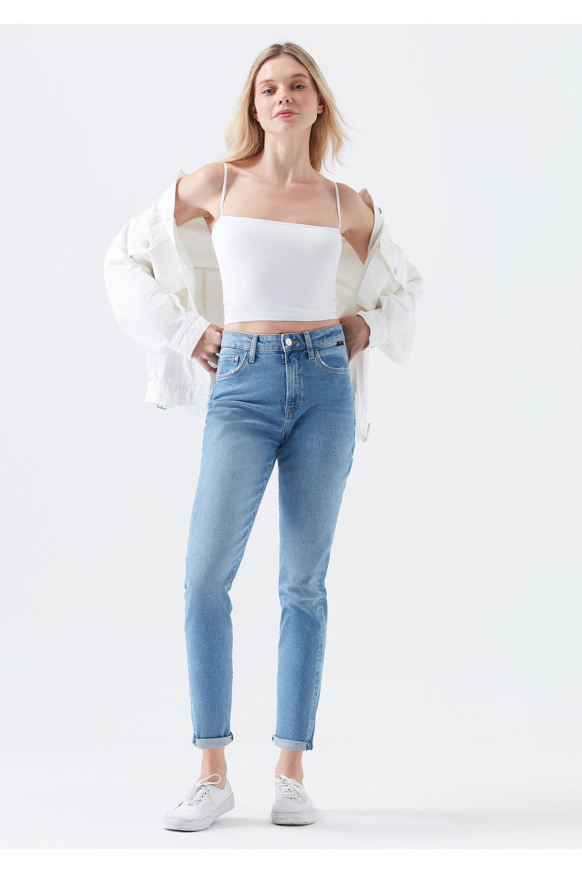 Mavi Kadın Mavi Star Gold Indigo Jean Pantolon 2