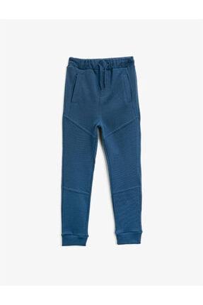 Koton Erkek Çocuk Mavi Cepli Eşofman Altı