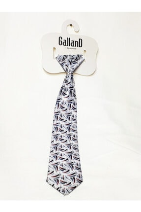 GallanD Erkek Çocuk Lacivert Kravat Dijital Baskı
