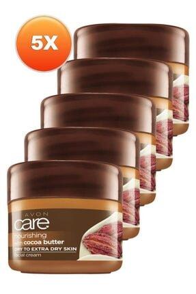 AVON Kakao E Vitamili Yüz Kremi 100 Ml. Beşli Set