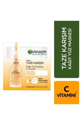 Garnier Taze Karışım Kağıt Yüz Maskesi Vitamin C 8690595823928