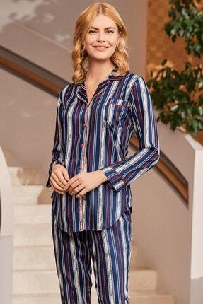 Lohusa Sepeti 5243 Randiglong Önden Düğmeli Pijama Takımı