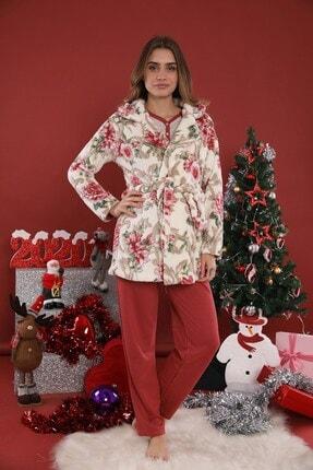 Lohusa Sepeti 20316 Welsoft Sabahlıklı Lohusa Pijama Takımı