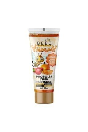 BEE'O Yummy Propolis Çilek Portakal 30 G