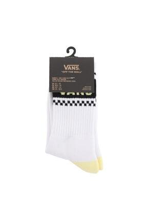 Vans 0a49zernı1-r Gırl Gang Crew 6.5-10 1pk Kadın Çorap Beyaz