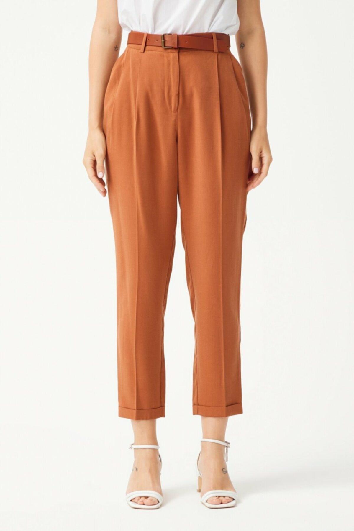 adL Kadın Pileli Pantolon 2